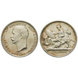 Griechenland, Georg I., Drachme 1910, vz+