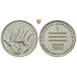 Griechenland, Republik, 500 Drachmen 1979, PP