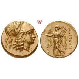 Makedonien, Königreich, Alexander III. der Grosse, Stater 315-314 v.Chr., f.st