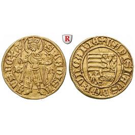 Ungarn, Ladislaus V., Goldgulden o.J., ss-vz