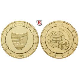 Slowakei, Goldmedaille 2010, 2,07 g fein, PP