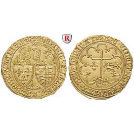 Frankreich, Henri VI., Salut d´or o.J. (1423), st/vz-st
