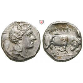 Italien-Lukanien, Thurium, Stater 350-300 v.Chr., ss/ss-vz