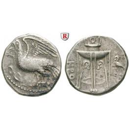 Italien-Bruttium, Kroton, Stater 350-300 v.Chr., ss