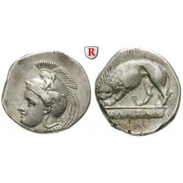 Italien-Lukanien, Velia, Didrachme 334-300 v.Chr., f.vz