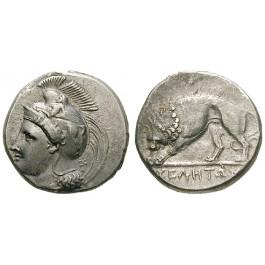 Italien-Lukanien, Velia, Didrachme 334-300 v.Chr., vz/ss-vz