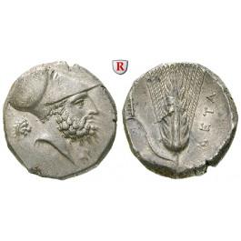 Italien-Lukanien, Metapont, Stater 340-330 v.Chr., vz-st