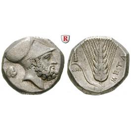 Italien-Lukanien, Metapont, Stater 340-330 v.Chr., ss-vz