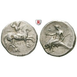 Italien-Kalabrien, Taras (Tarent), Didrachme 315-300 v.Chr., ss-vz/vz