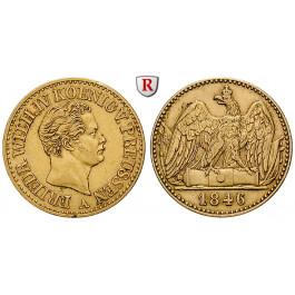 Brandenburg-Preussen, Königreich Preussen, Friedrich Wilhelm IV., Doppelter Friedrichs d`or 1846, ss+