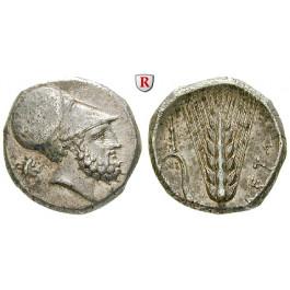 Italien-Lukanien, Metapont, Stater 340-330 v.Chr., vz
