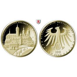 Bundesrepublik Deutschland, 100 Euro 2017, nach unserer Wahl, A-J, 15,55 g fein, st