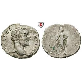 Römische Kaiserzeit, Clodius Albinus, Caesar, Denar 194-195, ss