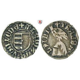 Rumänien, Walachei, Fürstentum, Vladislav I., Ducati o.J., ss+