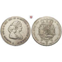Italien, Toscana, Carlo Ludovico unter Regentschaft von Marie Louise, Dena (1 1/2 Fancescone) 1807, ss