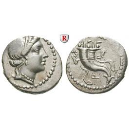 Römische Republik, L. Cornelius Sulla, Denar 81 v.Chr., vz
