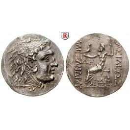 Makedonien, Königreich, Alexander III. der Grosse, Tetradrachme 125-70 v.Chr., vz