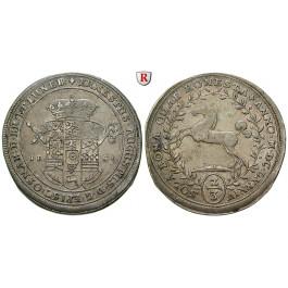 Braunschweig, Braunschweig-Calenberg-Hannover, Ernst August, 2/3 Taler 1684, ss+