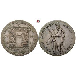 Braunschweig, Braunschweig-Calenberg-Hannover, Georg I. Ludwig, Reichstaler 1701, ss-vz
