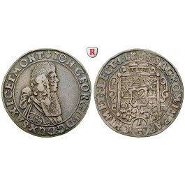 Sachsen, Albertinische Linie, Johann Georg II., 1/3 Taler 1668, ss+