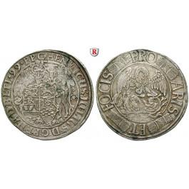 Braunschweig, Braunschweig-Wolfenbüttel, Heinrich Julius, Reichstaler 1599, ss-vz