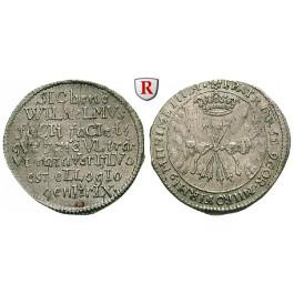 Sachsen, Sachsen-Weimar, Wilhelm, Groschen 1662, ss-vz