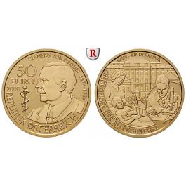 Österreich, 2. Republik, 50 Euro 2010, 10,0 g fein, PP