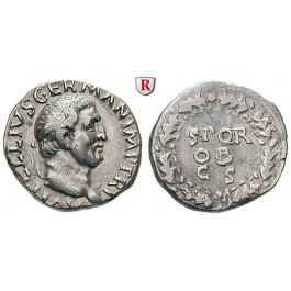 Römische Kaiserzeit, Vitellius, Denar, ss-vz