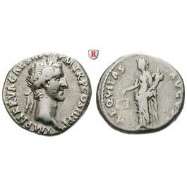 Römische Kaiserzeit, Nerva, Denar 97, ss