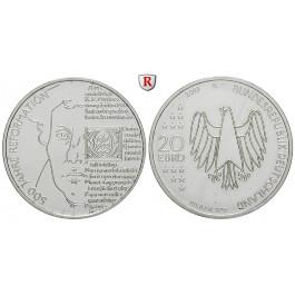 Bundesrepublik Deutschland, 20 Euro 2017, 500 Jahre Reformation, bfr.