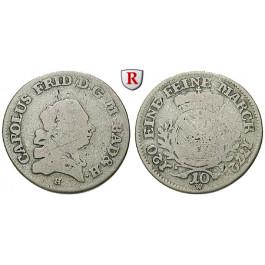 Baden, Baden-Durlach, Carl Friedrich, 10 Kreuzer 1772, f.ss