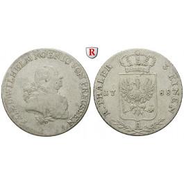 Brandenburg-Preussen, Königreich Preussen, Friedrich Wilhelm II., 1/3 Taler 1788, ss
