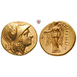 Makedonien, Königreich, Alexander III. der Grosse, Stater 325-315 v.Chr., vz-st