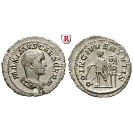 Römische Kaiserzeit, Maximus, Caesar, Denar 235-236, vz-st