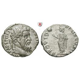 Römische Kaiserzeit, Pertinax, Denar, vz/ss-vz