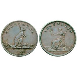 Australien, Victoria, Token 1851, ss