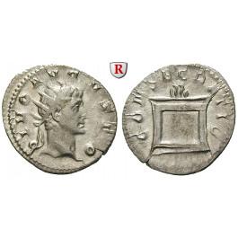 Römische Kaiserzeit, Augustus, Antoninian 250-251 unter Trajanus Decius (249-251), f.vz