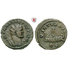Römische Kaiserzeit, Allectus, Quinar, ss-vz