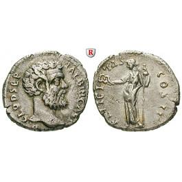 Römische Kaiserzeit, Clodius Albinus, Denar 195-197, ss