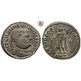 Römische Kaiserzeit, Maximianus Herculius, Follis 294, vz