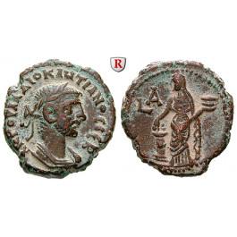 Römische Provinzialprägungen, Ägypten, Alexandria, Diocletianus, Tetradrachme Jahr = 284-285, ss-vz