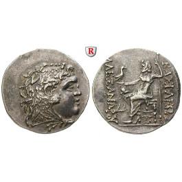 Makedonien, Königreich, Alexander III. der Grosse, Tetradrachme 175-125 v.Chr., ss-vz