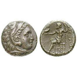 Makedonien, Königreich, Alexander III. der Grosse, Drachme 323-317 v.Chr., f.vz