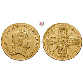 Grossbritannien, George I., Quarter-Guinea 1718, ss-vz