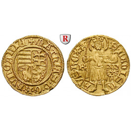 Ungarn, Matthias I. Corvinus, Goldgulden o.J. (um 1458-59), vz+