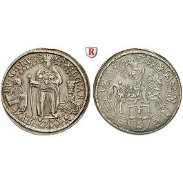 Deutscher Orden, Maximilian von Österreich, 1/4 Taler o.J. (1612-1618), ss-vz
