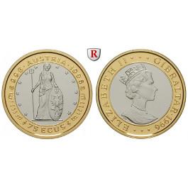 Gibraltar, Elisabeth II., 75 Ecu 1996, PP