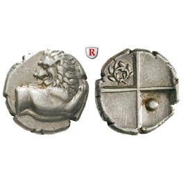 Thrakien, Chersonnesos, Hemidrachme um 386-338 v.Chr., ss-vz