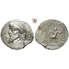 Elymais, Königreich, Kamnaskires IV., Tetradrachme 62-62 v.Chr., f.vz