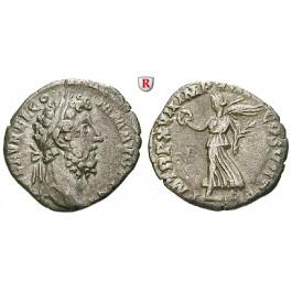 Römische Kaiserzeit, Commodus, Denar 192, ss